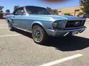 1967 Ford Mustang convertible 289 v8 Malaga Swan Area Preview