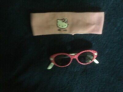 Hello Kitty Sonnenbrille + Stirnband wie NEU
