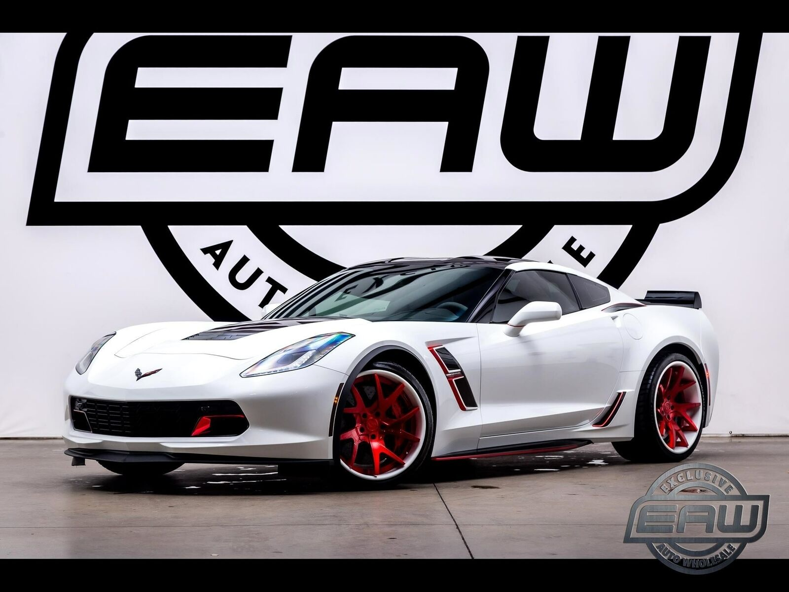 2017 White Chevrolet Corvette Grand Sport 3LT | C7 Corvette Photo 1