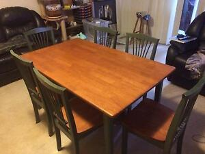 Dining Table w/ six chairs Artarmon Willoughby Area Preview