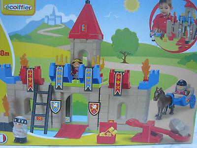 Ritterburg Burg inkl. Zubehör Spielset Ecoiffier Abrick Reitstall Spielzeug NEU
