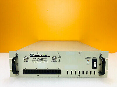 Comtech Pst Ar1929-20 1000 To 2000 Mhz Solid State Linear Rf Amplifier. Tested