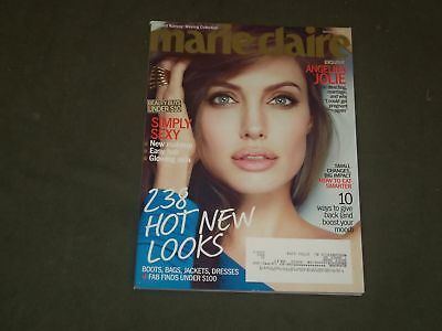 2012 JANUARY MARIE CLAIRE MAGAZINE - ANGELINA JOLIE COVER - B 3337