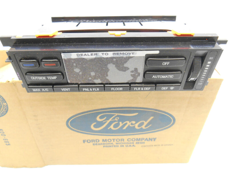 New OEM Lincoln Mark VIII Digital Temp Control 1993-1994 F4LY-19980-A