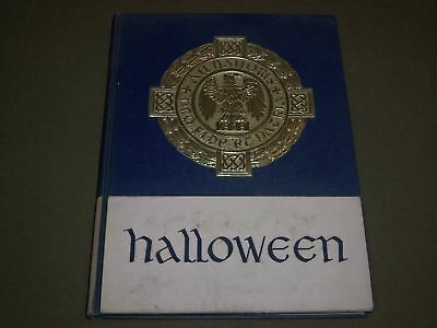 1966 HALLOWEEN ALL HALLOWS INSTITUTE YEARBOOK - BRONX, NEW YORK - YB - College University Halloween