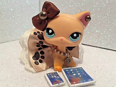 Littlest Pet Shop Clothes LPS Accessories Custom Outfit Paw Print NO CAT/DOG