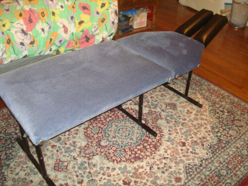 Custom Portable Chiropractic Adjusting Table Foldable, Light weight, Low Height