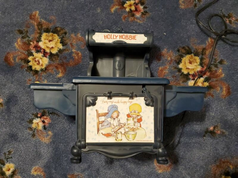 Vintage Holly Hobbie Bake electric bake oven made coleco parts or repair (A10)