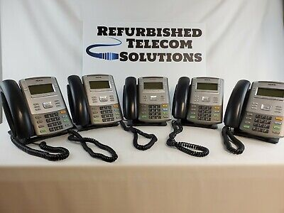 Nortel Ip 1120e - Lot Of 5 Used With Free Shipping