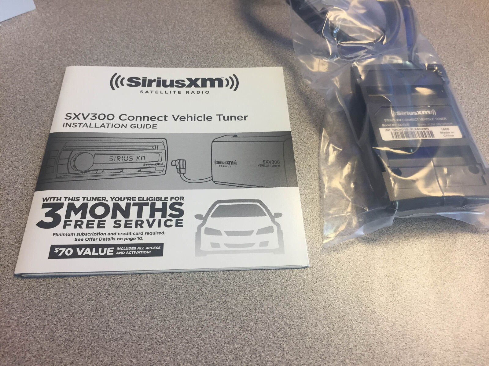 new sirius xm satellite car rv radio sxv300 connect vehicle tuner no rh ebay com sirius setup guide sirius installation instructions