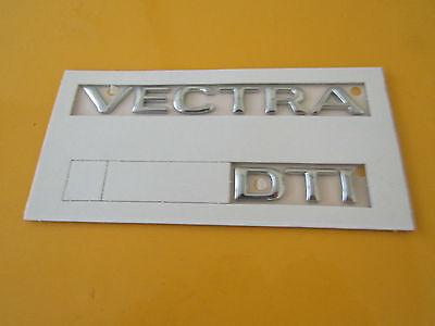 Emblem Schriftzug hinten VECTRA silber Vectra A GT ORIGINAL OPEL 1719965