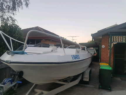 20ft offshore fishing boat 130hp yamaha