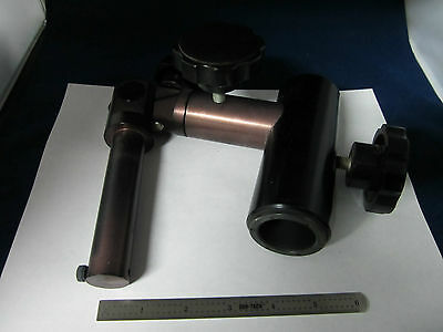 I Optical Microscope Part Nikon Stereo Holder Support As Is Without Optics Bin4t
