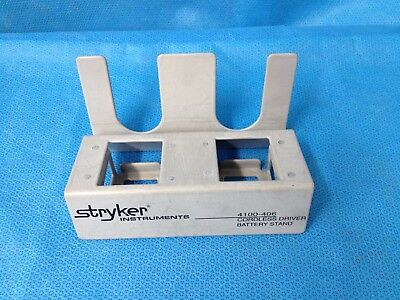 Stryker Cordless Driver Battery Stand 4100-406