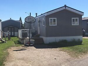 3 bedroom 1 bathroom mobile home $49,900 obo