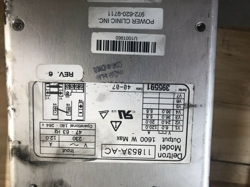 Presstek Dimension 400 Power Supply Many Other Parts