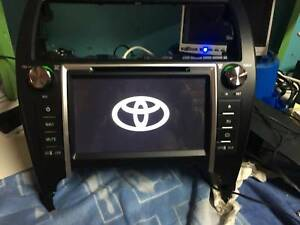Dvd player for toyota camry with gps in sydney region nsw audio 2012 2015 toyota camry 8 andriod gpscamera free fandeluxe Gallery