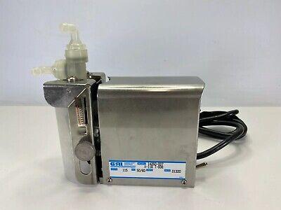 Gorman-rupp Gri 14250-007 X-116 T-006 Standard Bellows Metering Pump 115v
