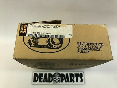 Harley BDL 32 tooth 5 speed transmission trans pulley sprocket