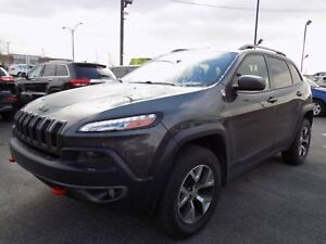Jeep Cherokee Trailhawk 2015 CUIR/TOIT/GPS/HITCH