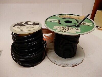Omega Iron Constantan 20 Ga Thermocouple Wire Solid Two Smaller Rolls Nos