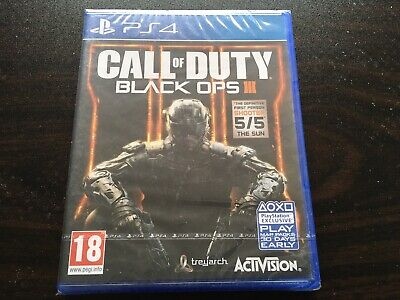 Call of Duty Black Ops 3 III - PS4 (PAL) Brand New...