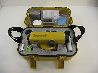 Topcon At-b2 Automatic Level Surveying 1 Month Warranty