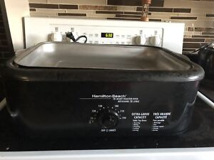 Electric turkey roaster