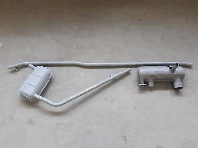 Set Auspuff Schalldämpfer Auspuffanlage Trabant 601