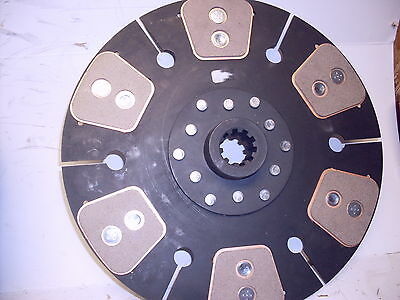 Vermeer Wood Chipper Tractor Clutch Disc 1 38 10 Spline