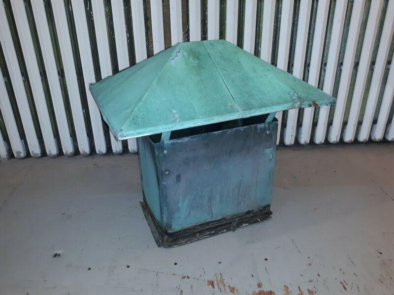 Antique Copper Cupola Architectural Industrial  Garden
