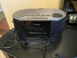 iHome Dual Alarm Stereo Clock Radio-iBT38-Bluetooth-USB Charging-Sure Alarm