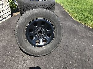 """Winter Tires and Rims 17"""" with TPMS"""