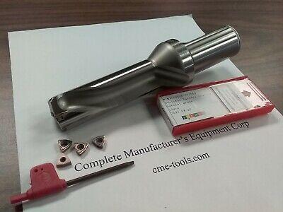 U Drill 1-18x3-12x7 1-14 Shk Index Extra 4pcs Wcmx05 Inserts Ud-118