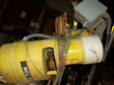 Yale 12 Ton Electric Chain Hoist Kelb 5032 1000lb 32fpm 460v 1hp 428049-8 91