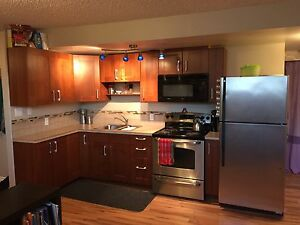 Modern basement suite for rent downtown Peace River