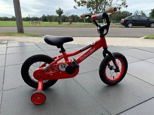 Kids Red Malvern Star BMX Bike 12 inch