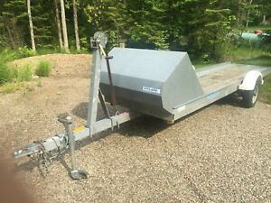 18ft Hyland Tilting Trailer (snowmobiles, dual ATV)