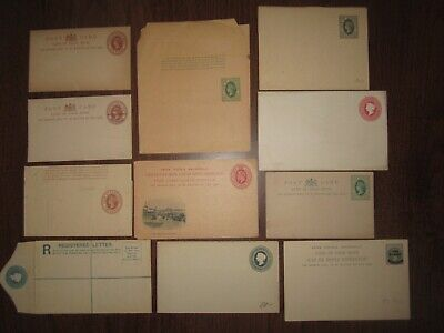 11x CAPE OF GOOD HOPE STATIONERY, WRAPPER and POSTAL CARD