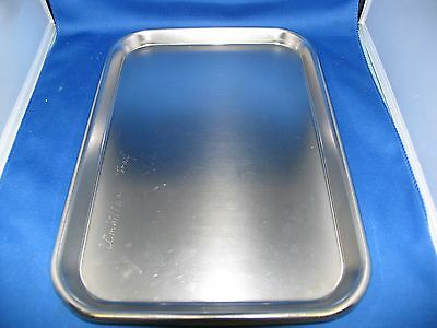 Vollrathpolarwareanchor Mayo Stand Instrument Trays Lot Of 10