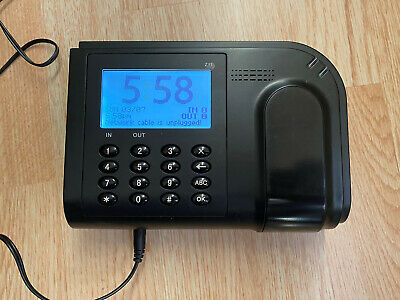 Z11 Flexclock Time Clock Employee Check In Out Payroll Ethernet Unregistered