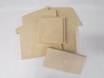 (Morso Replacement Vermiculite Fire Bricks | All Models | Side | Back |)