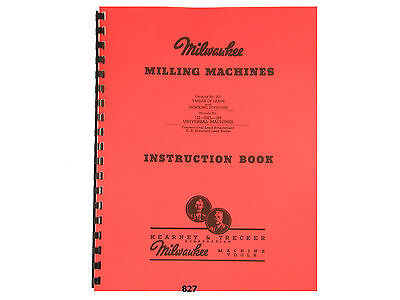 Milwaukee Table Of Leads For 1h 2hl 2h Milling Machines Kearney 827