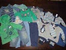 Size 0 baby boy clothing bundle - 14 items Greenwith Tea Tree Gully Area Preview