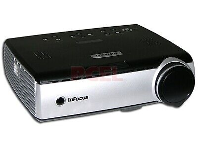 InFocus IN34EP DLP Projector 2500 ANSI HD 1080i USED, GREAT-CONDIT w/Accessories
