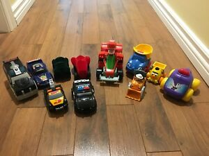 Bag of Cars - infant cars to toddler cars