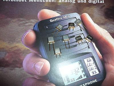 Kanalquarz für  Swissphone Quattro 96- Xls+  Kanal 492 / 494 gebraucht kaufen  Deutschland