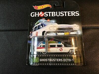 New hot wheels Ghostbusters- echo 1 -real rider -Rare US