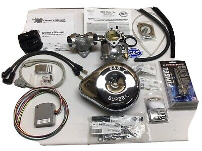 Harley Twin Cam EFI to Carburetor Conversion S&S/ E & Stand Alone Ignition 99-01