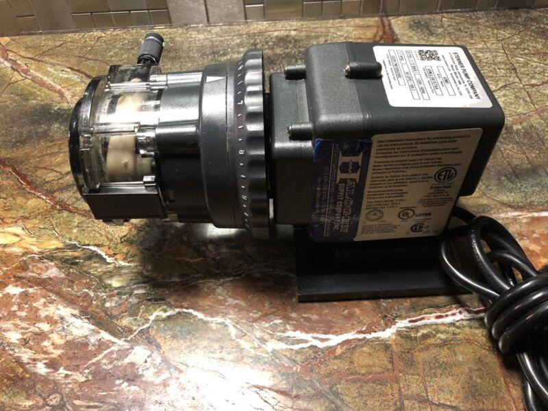 Stenner Pump 25 Psi 1.72 Bar 120V/60Hz 1.7 Amp 50.0 GPD 45M5 Free Shipping